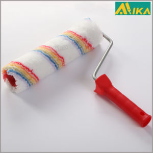 "9"" 48mm Rainbow Strips Acrylic Paint Roller with Handle pictures & photos"