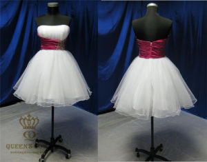 Short Tulle Knee Length Party Dresses. Prom Dresses pictures & photos