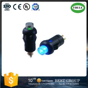 Small Mini Push Button Switch with LED, with Lamp Button Switch Instruments Dedicated Button Switch 7.5 mm with The Light Switch pictures & photos