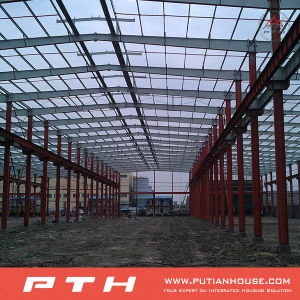 ISO 9001: 2008 Certificated Steel Structure Warehouse pictures & photos
