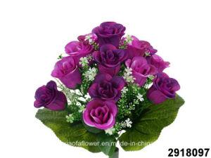 Artificial/Plastic/Silk Flower Rosebud Bush (2918097) pictures & photos