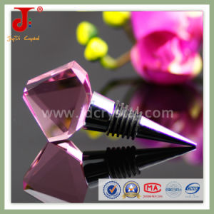 Personalized Crystal Engraved Wine Stopper for Bottle Decoration pictures & photos