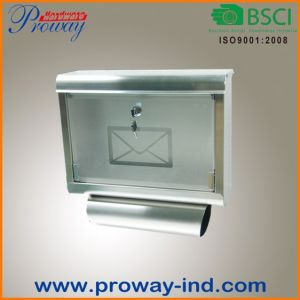 New Design Mail Box for Newspaper (PWG-604-SS) pictures & photos