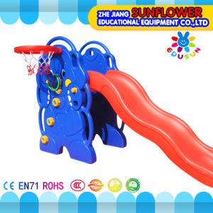 Indoor Playground Elephant Shape Children Toys Kindergarten Soft Plastic Slide Playground (XYH12065-1) pictures & photos