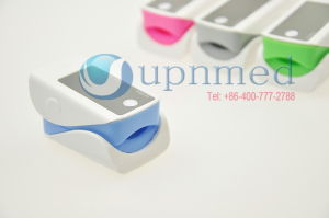 Fingertip Pulse Oximeter Blue Oximeter pictures & photos
