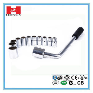 2016 New Long Handle Ratchet Socket Wrench Tool for Bicycle Repairing pictures & photos