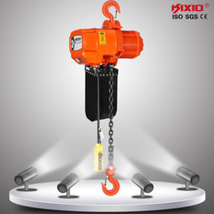 Kixio 3 Ton Hook Type Electric Chain Hoist with Ce pictures & photos