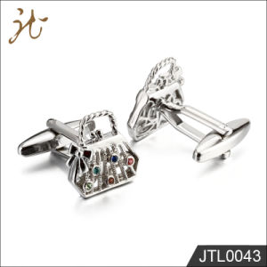 Fashion Nice Quality Bag Design Cuff Links for Lady pictures & photos