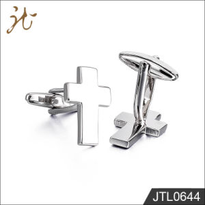 Fashion Nice Cross Design Cuff Buttons for Sale pictures & photos