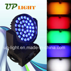 36*18W RGBWA+UV 6in1 Wash LED Zoom Disco Lighting pictures & photos