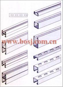 Acero Galvanizado Canal Estructural Riel Roll Forming Machine Mexico pictures & photos