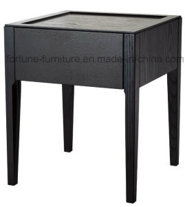 Wooden Solid Wood Feet Nightstand I&D-10512 (Two colors)