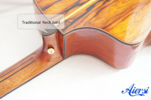All Solid Wholesale Spruce Acoustic Guitar with Cocobolo Back (SG03SC) pictures & photos