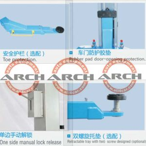 China Two Post Auto Car Lift Repair Equipment with Ce pictures & photos