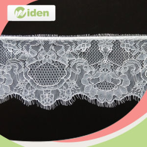 12.5cm Advanced Machines Fashion White Cheap Fancy Eyelash Lace pictures & photos