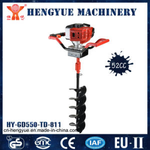 52cc Single Operator Gasoline Hole Digger Ground Drill pictures & photos