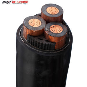 Medium Voltage Cable 15kv 3X185mm Factory Cable pictures & photos