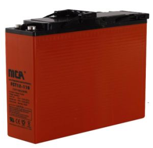 12V 110ah Pure-Lead Battery for Solar System pictures & photos