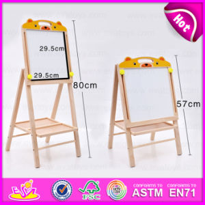 School Kids Wooden Table Top Easels Wholesale, High Quality Portable Wooden Children Table Easel W12b085 pictures & photos