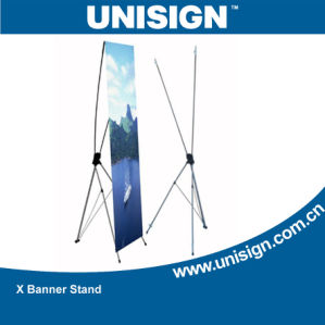 High Quality Aluminum X Banner, X Banner Display, Roll up Stand pictures & photos
