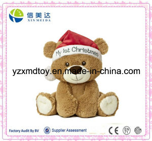 Plush Christmas Bear Baby Toy pictures & photos