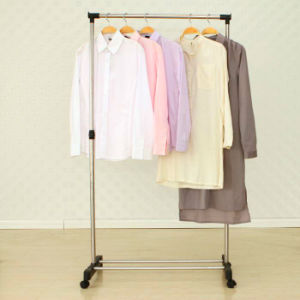 Stainless Steel Telescopic Single-Pole Clothes Hanger pictures & photos