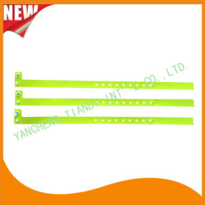 Hospital Plastic ID Wristband Bracelet Bands with Tail (8060-20) pictures & photos