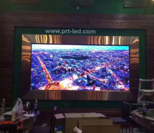 P2.5 Portable Indoor LED Display with Panel 480X480mm Die-Casting pictures & photos