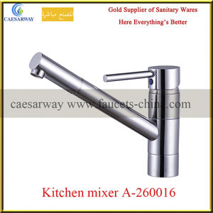 Long Spout Single Lever Water Kitchen Faucet