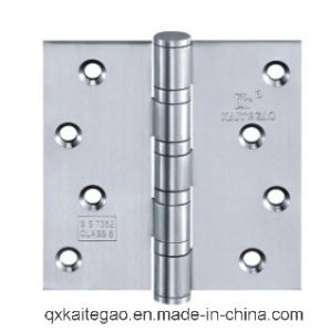 Stainless Steel Ball Bearing Wooden Door Hinge (3044--4BB/2BB) pictures & photos