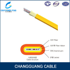 Flat Fiber Ribbon Cable Gjdfjv High Quality Wholesale 6 Core Fiber Optic Cable pictures & photos