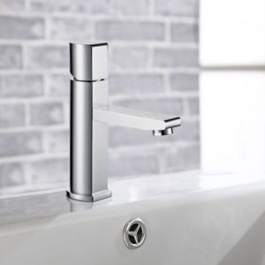 Chromium Finish Brass Wash Basin Tap for Washing Hand