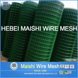 Ultra Fine PVC Coated Welded Wire Mesh pictures & photos