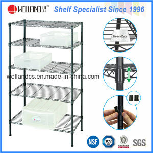 High Quality Epoxy 5 Tiers Light Duty Steel Storage Rack pictures & photos