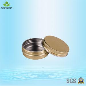 30ml Golden Cosmetic Aluminum Tin Cream Jar for Cream Packaging pictures & photos