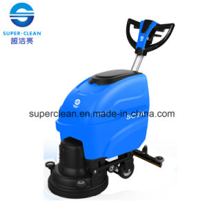 Sc2a Floor Scrubber with Butterfly Handle, Scrubber Dryer pictures & photos