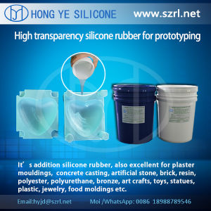 Translucent Liquid Prototyping Silicone Rubber with High Tear Strength pictures & photos