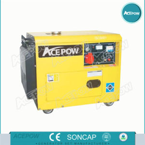 Air Cooled 3kw 5kw 10kw Electric Genertor with Electric Start Sinle Phase pictures & photos