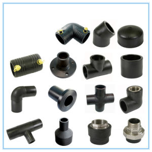 Large HDPE Tee Pipe Fittings for Water Sewage pictures & photos