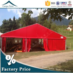 20 Width Customized Clear Span Structure Red Event Tent From China pictures & photos