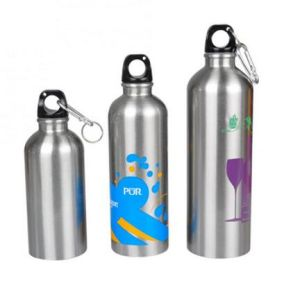 Factory Price Logo Printed Cheap Aluminum Sport Water Bottle pictures & photos