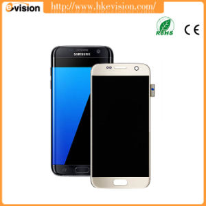 LCD Touch Screen Digitizer + Frame for Samsung Galaxy S7 G930f G930A G930p Gold pictures & photos