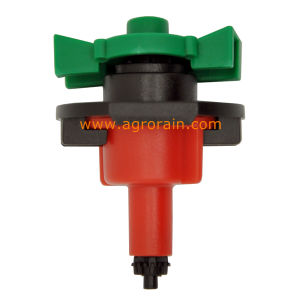 360 Degree Full Circle up-Right Type No Bridge Mini Sprinkler Red Nozzle 80L/H