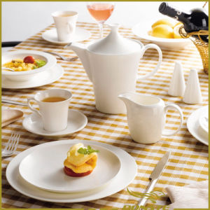 10 PCS Ceramic Tableware Free Circular Lines Series pictures & photos