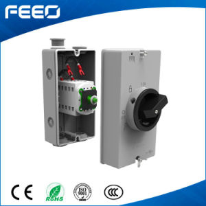 Rotary Switch 3p 600V 16A China Made DC Isolator Switch pictures & photos
