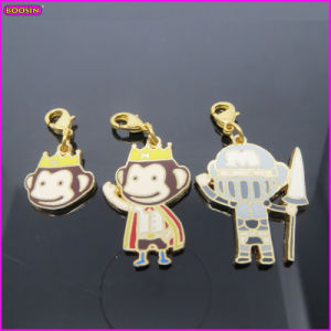 Banana Chippy a Jolly Monkey Enamel Metal Charm (18429) pictures & photos
