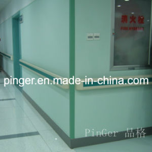 Hospital Vinyl and Aluminum Wall Corner Guard pictures & photos