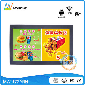 16: 10 Resolution 1440*900 Android 17 Inch LCD Digital Signage Player pictures & photos