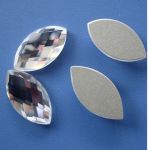 Navette Flat Back Strass, Flat Back Stones, Flat Back Beads pictures & photos
