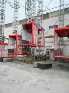 Double Cage Building Hoist (SC200/200) pictures & photos